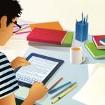 perfil do jovem que estuda online